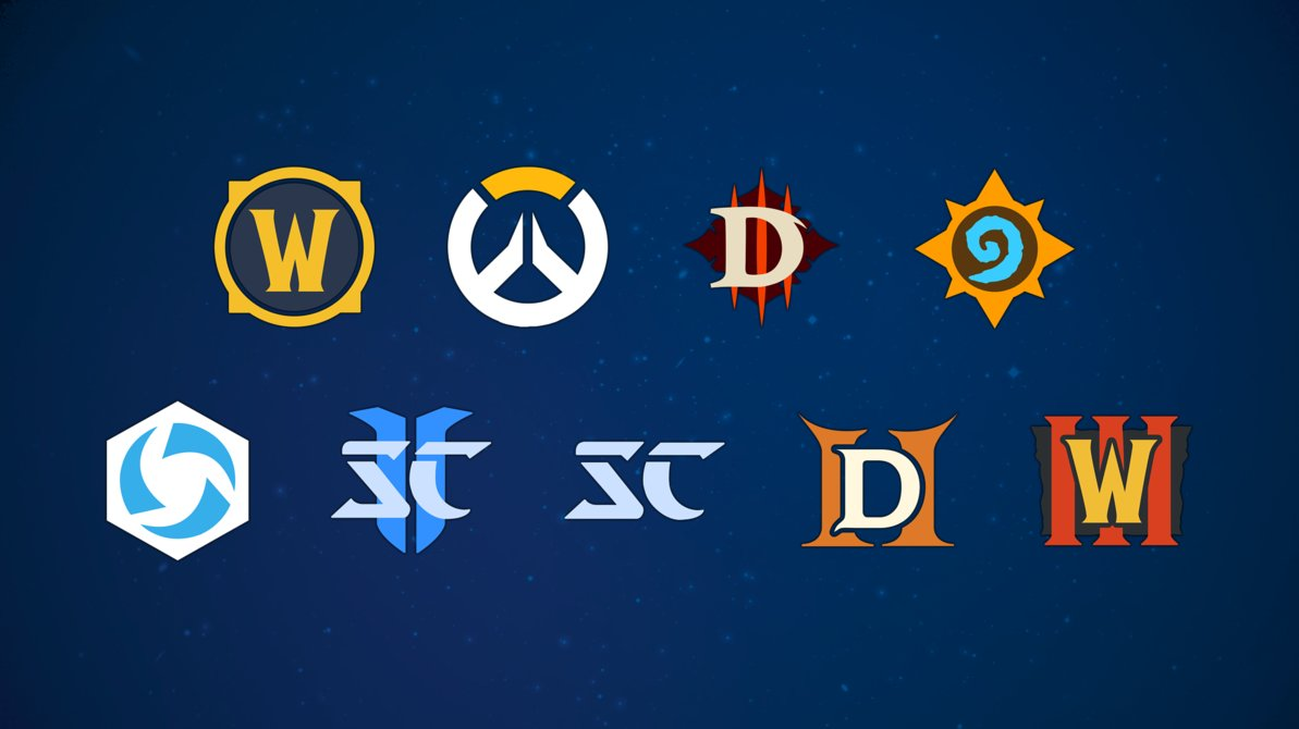 blizzard flat iconset by slim08151 dcwweag